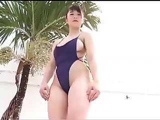 Japanese Girl sexy at the Pool [ Softcore ]