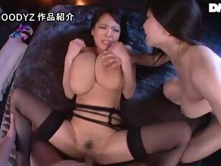 Lucky guy fucked two Super Tits Porn star!