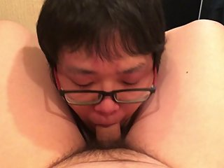 Jpanese Face Fuck - Cock Sucker Shinya