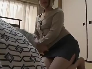 Japanese gorgeous hot House wife.. Sex Harassment her boss