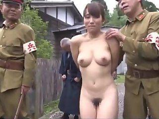 ENF CMNF stripped naked in village - Japanese Woman in Public