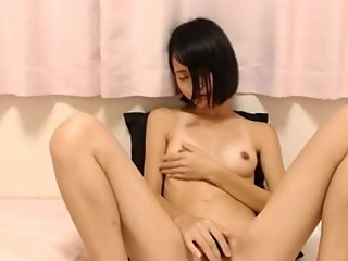 Beauty Japanese Girl Masturbation Sex Toy