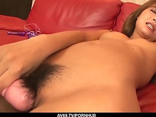 Fabulous cock sucking and hor cock riding by Misaki Tan - More at 69avs com