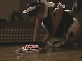 Maid bondage play