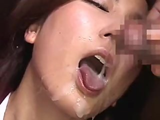 JAPANESE BEAUTIFUL GIRL CUM SHOT MOUTH GOKKUN