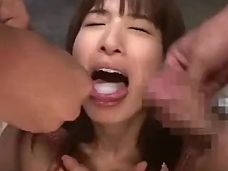 japanese Beautifugirl fellatio Cum Shot Mouth gokkun