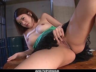 Superb Japanese amateur porn with Yuna Satsuki - More at 69avs com