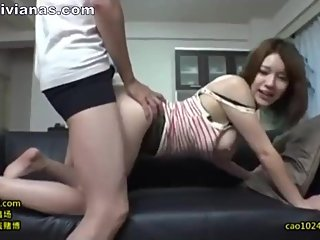 Very hot single Chinese calls her neighbor to have sex XJAPScom