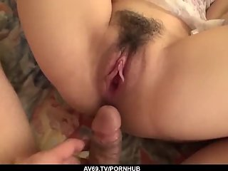 Sex and blowjob in POV for sensual wife, Mayuka Akimoto - More at 69avs com