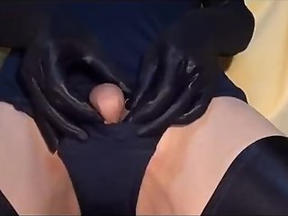 Crossdress Nipple Masturbation