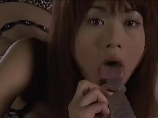 japanese cute slim girl blowjob facial