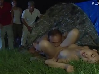 Gangbang by Soldiers and her Family