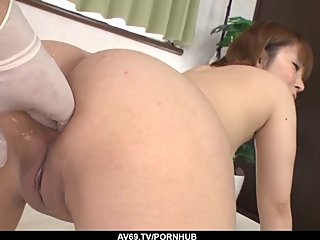 Kaho Kitayama shows off in excellent scenes of milf por - More at 69avs com