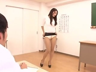 Sexy teacher 2019 , short skirt upskirt