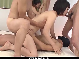 Ai Nashi loves having sex with younger partners and swa - More at 69avs com
