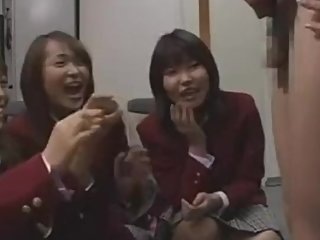 Japanese School Girls and Mean Governess - SPH CFNM