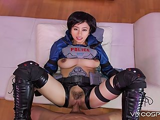 VRCosplayX Asian Babe Akira Got A New Sexual Robot
